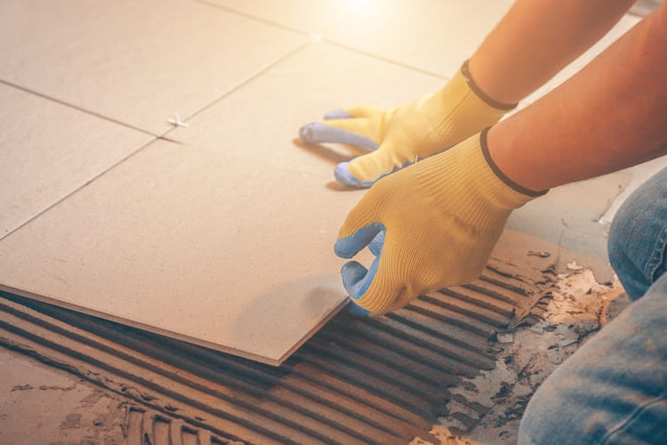 How To Install Tile Floor in Your Home on a Small Budget